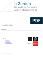 Copywriting + Community Management