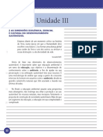 Desenvolvimento Sustentável Unidade III