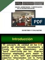 Evauacion y Acreditacion de La Calidad Educativa 006ccesa1