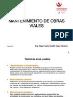 Clases de Mantenimiento Vial UPC Enero 2014