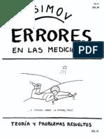 Asimov - [Física] Errores en Las Mediciones