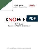 HWMO Know Fire K-8th Curriculum
