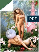 Trans woman Carmen Carrera graces the Life Ball 2014 posters representing both genders