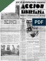 Acción Libertaria, Nº 26. Abril1937
