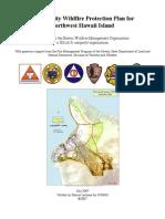 Northwest Hawaii Community Wildfire Protection Plan (CWPP) - 2007