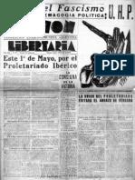 Acción Libertaria, Nº 27. Abril 1937