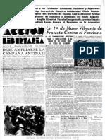 Acción Libertaria, Nº 33. Mayo 1937