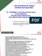 Presentación Acc Mortal Luis Condor Zarate 01-09-12 SC Atlas Copco Area Mantto