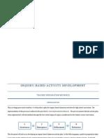 TDSB Inquiry-Based Activity Development