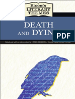 HAROLD BLOOM [ED] ► Death and Dying
