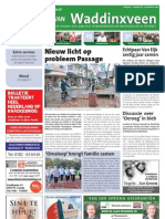 De Krant van Waddinxveen, 13 november 2009