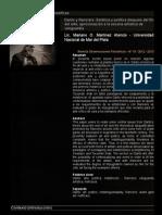 Revista Observaciones Filosóficas - Danto y Ranciére
