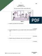 PKSR 1 Sains Thn 4 Bahagian B (Kemahiran Sains-Proses Hidup Haiwan)