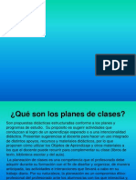 Diapositivas .. Plan de Clase