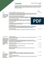 Evergreen & Emery - Data Visualization Checklist_2014