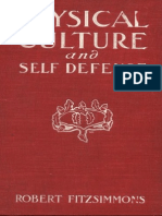 Physical Culture and Self Defence Robert Bob Fitzsimmons 1901