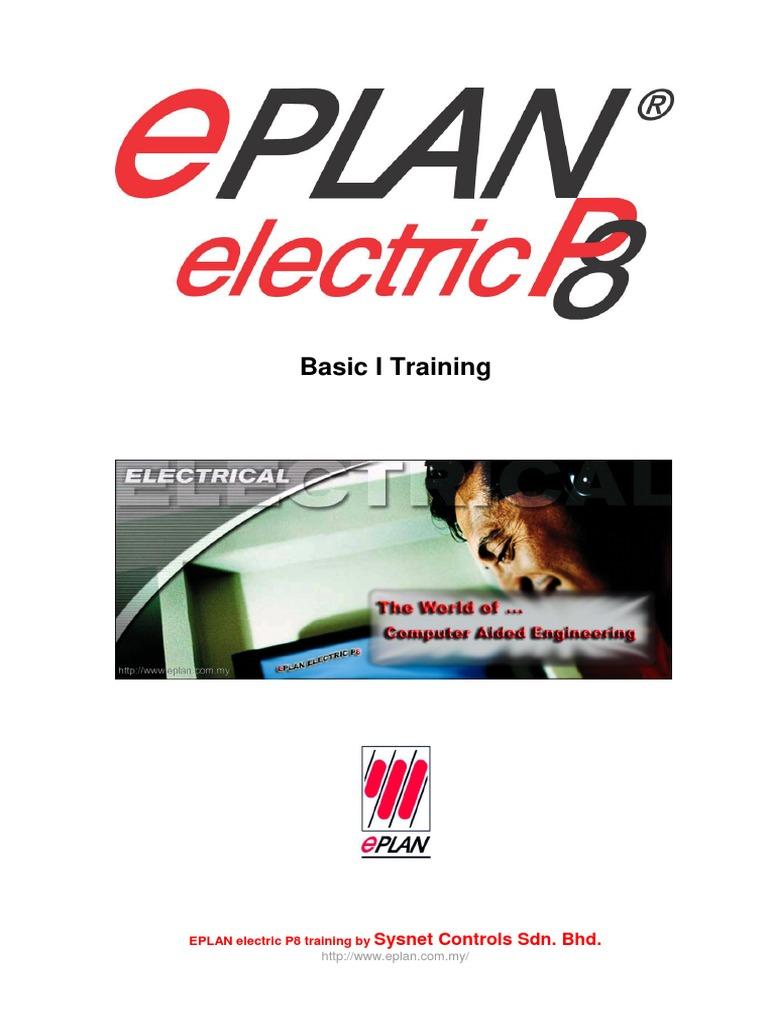 eplan electric p8 basici keyboard shortcut button (computing) Electrical Engineering Logo E Plan Electrical Training #9