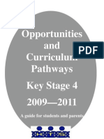 HTS Pathways Booklet 2009