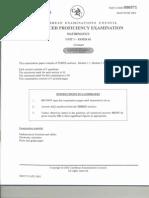 Cape Unit 1 Pure Math Past Exam Papers (2003)