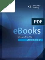 Catálogo eBooks Universitario