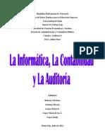 69139654 La Informatica La Contabilidad y La Auditoria