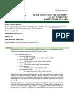1Q13 Cloud Infrastructure Equipment Worldwide Market Share Analysis