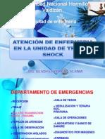 11.- .Atencion de Enfermeri en La Unidad de Truma Shok y Coche de Paro