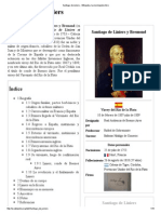 Santiago de Liniers - Wikipedia, La Enciclopedia Libre