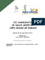 Condiciones+VII+Copa+Ciudad+de+Cumana+-+Aguas+Abiertas+2013