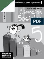 SOCIALES 5 Benjamin 2014