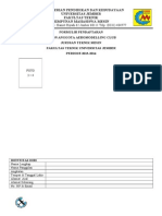 Formulir Pendaftaran Aeromodelling Club