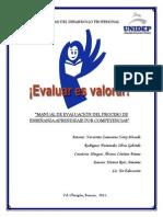 Manual de Evaluacion Del PEA Por Competencias