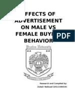 Imapct of Adv on Consumer Psyche