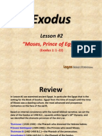2. Moses, Prince of Egypt