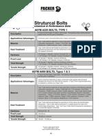 Tech StructuralBolts