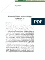 En Torno a La Dicotomía Democracia-Demagogia - Francisco Puy