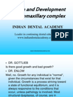 Development of Naso Maxillary Complex / orthodontic courses by Indian dental academy