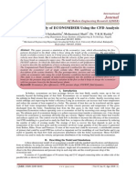 Comparative Study of ECONOMISER Using the CFD Analysis