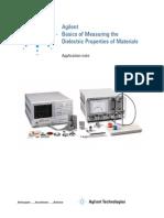 Measuring Dielectric Properties Material