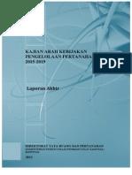 Kajian Arah Kebijakan Pengelolaan Pertanahan Nasional 2015-2019