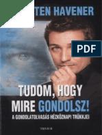 Thorsten Havener - Tudom Hogy Mire Gondolsz