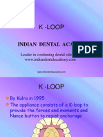 K-LOOP / orthodontic courses by Indian dental academy