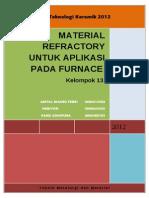 Material Refraktori Untuk Aplikasi Pada Furnace_kelompok 13_Teknologi Keramik