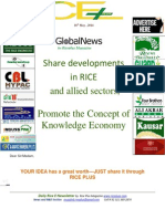 16th May,2014 Daily Global Rice E-Newsletter by Riceplus Magazine