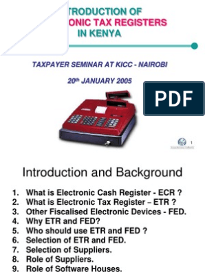 Electronic Tax Registers 2 | Point Of Sale | Receipt