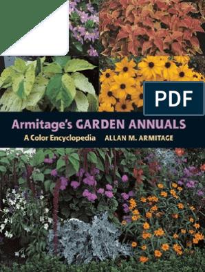 A Color Encyclopedia Armitages Garden Annuals