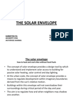 The Solar Envelope