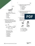 PKSR 1 Sains Thn 5 Bahagian a (Mikroorganisma - Siratan Makanan)