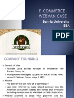 Webvan Case Summary