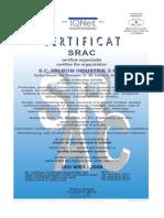 Certificat ISO 9001-2008